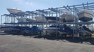 Corrosion protection boat storage