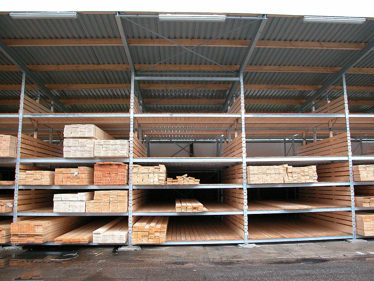 Legno Grezzo Per Mensole : Commercio del legno soluzioni di stoccaggio delicate ohra gmbh