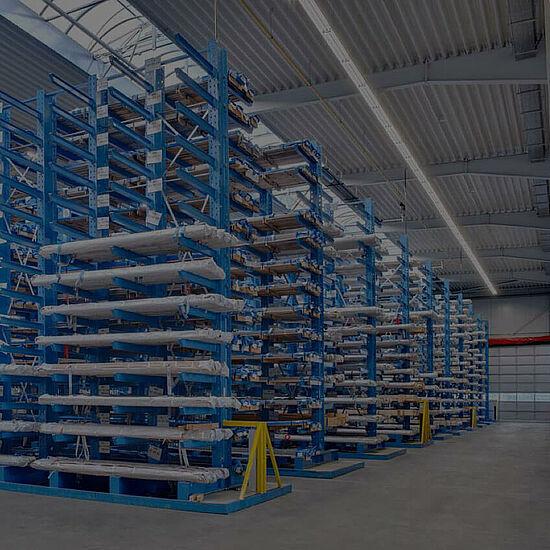 Scaffali Altezza 3 Metri.Scaffali Cantilever Sistemi Di Stoccaggio Industria E Artigianato