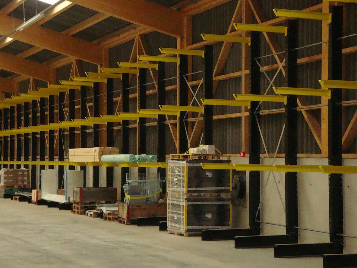 Hg commerciale cortaillod sistema di stoccaggio ohra gmbh for Progetti di costruzione commerciale gratuiti
