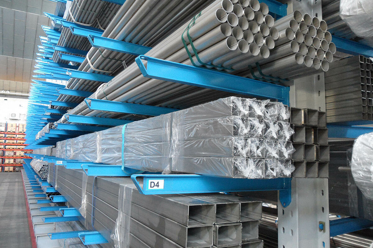 Commercio del metallo scaffali per carichi pesanti ohra gmbh